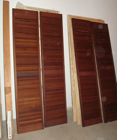 Louvered Closet Doors