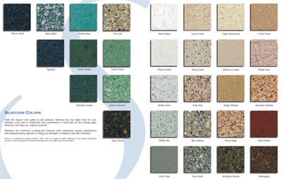 SileStone Color Chart