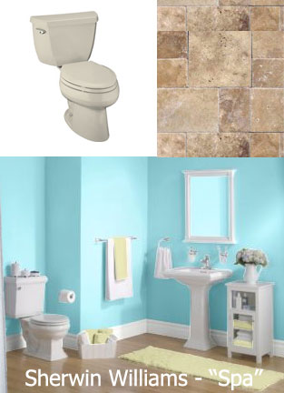 Bright Bathroom Color